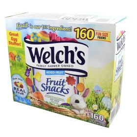 Welch's Easter Shaped Mixed Fruit Snacks 160 Pouches