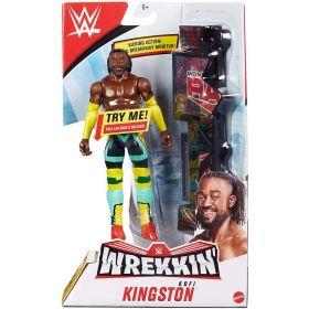 WWE Wrekkin Kofi Kingston Figure