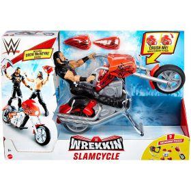 WWE Wrekkin Slam Cycle Motorcycle With Drew McIntyre