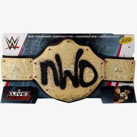 WWE Wrestling Live Action nWo WCW Championship Belt
